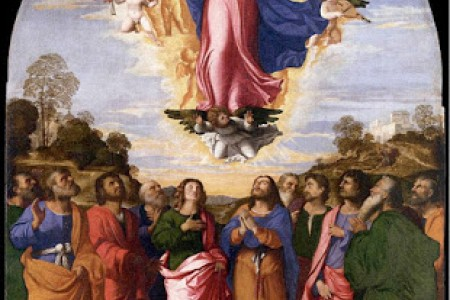 August 15; The Assumption of The Blessed Virgin Mary