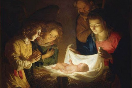 Dec 25; Christmas Mass at Midnight