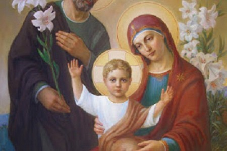 Dec 31; Feast of the Holy Family 2017