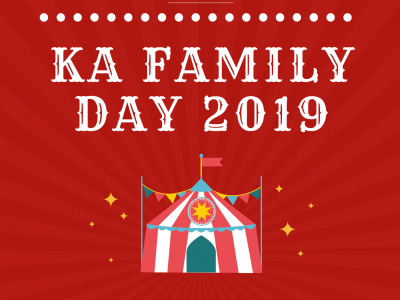 Kristus Aman Family Day 2019 | 26 Oct | 9am - 2:30pm