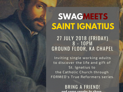 SWAGmeets Saint Ignatius of Loyola
