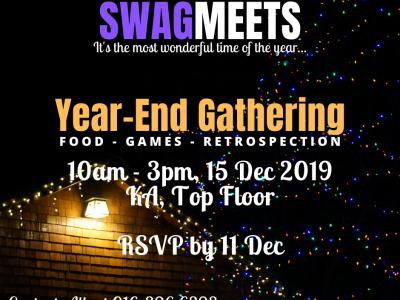 SWAG Year-End Gathering | 15 Dec 2019