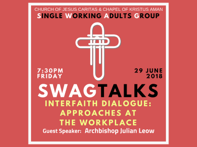 SWAGTALKS with Archbishop Julian - 29 June 2018