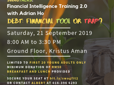 SWAG Talks: Financial Intelligence Training (FIT) 2.0 with Adrian Ho