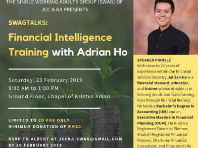 SWAG Talks: Financial Intelligence Training with Adrian Ho