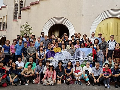 PRE-LENTEN PILGRIMAGE & RECOLLECTION in MANILA