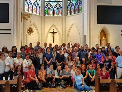 [Recap] KA's Pilgrimage to Novena Church, Singapore