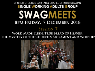 SWAGmeets: CATHOLICISM by Bishop Barron - Session Seven