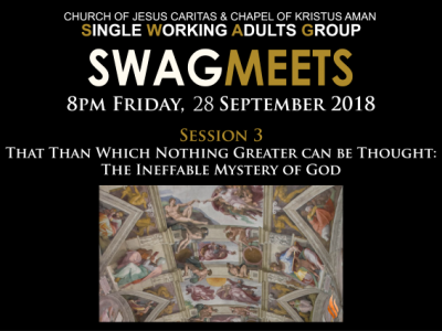 SWAGmeets: CATHOLICISM by Bishop Barron - Session Three