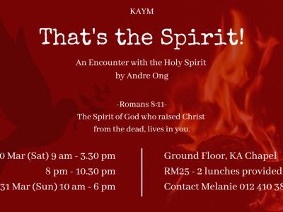 KAYM - That's the Spirit!